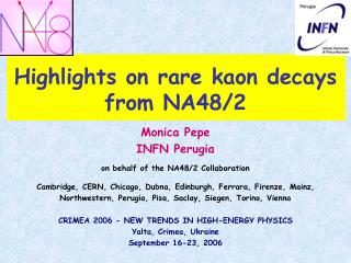 Highlights on rare kaon decays from NA48/2