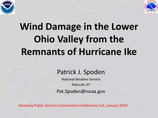 Wind Damage in the Lower Ohio Valley from the Remnants of Hurricane Ike