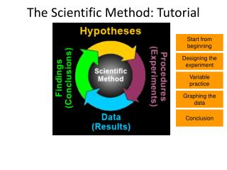 The Scientific Method: Tutorial