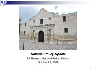 National Policy Update