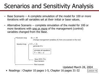 Scenario loop