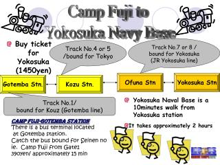 Buy ticket for Yokosuka (1450yen)