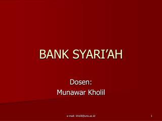 BANK SYARI�AH