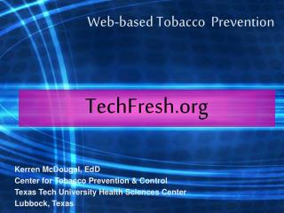 Web-based Tobacco  Prevention