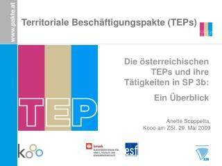 Territoriale Besch�ftigungspakte (TEPs)