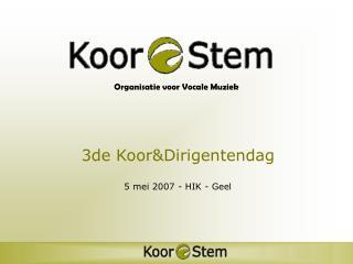 Organisatie voor Vocale Muziek