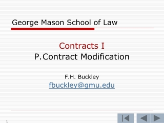 Termination of Commercial Contracts