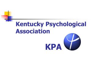 Kentucky Psychological Association KPA