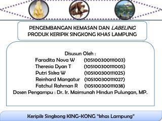 """Keripik Singkong KING-KONG """"khas Lampung"""""""