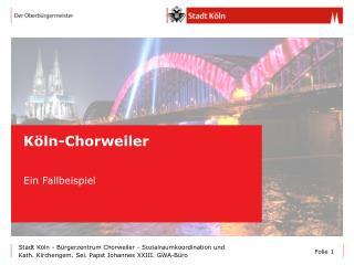 Köln-Chorweiler