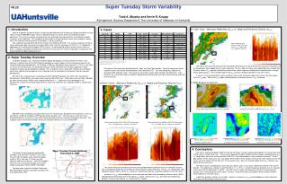 Super Tuesday Storm Variability Todd A. Murphy and Kevin R. Knupp