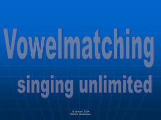Vowelmatching