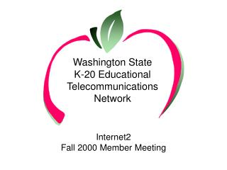 Washington State K-20 Educational Telecommunications  Network
