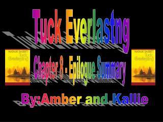 Tuck Everlastng