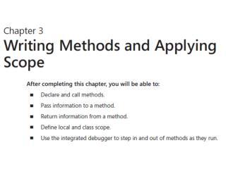 Metodi – methods u C#