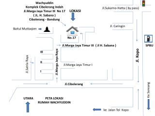 Jl.Sukarno-Hatta  ( by pass)