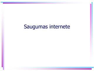 Saugumas internete