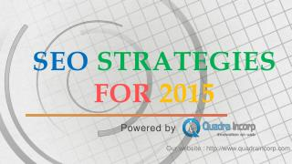 SEO Strategies for 2015