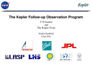 The Kepler Follow-up Observation Program
