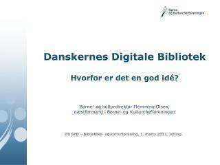 DB SYD – biblioteks- og kulturforening. 1. marts 2011, Jelling.