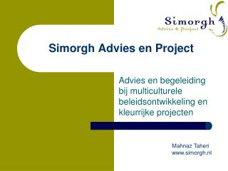 Simorgh Advies en Project