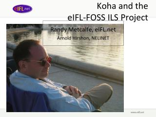Koha and the  eIFL-FOSS ILS Project