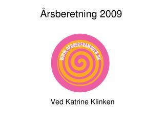 Årsberetning 2009