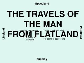 I'm going to Flatland