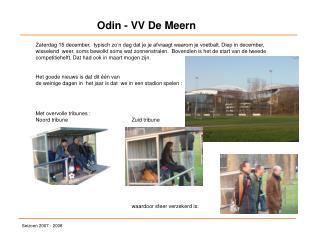 Odin - VV De Meern