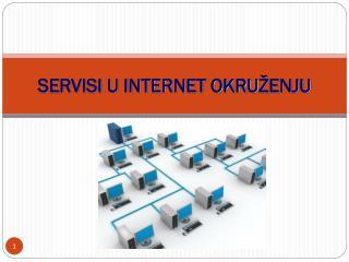 SERVISI U INTERNET OKRU �ENJU