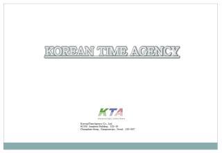 KOREAN TIME AGENCY