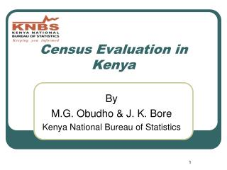 Census Evaluation in Kenya