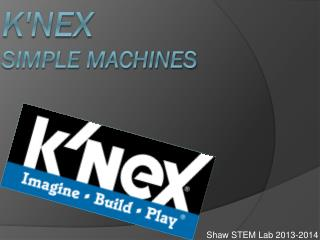 K'Nex Simple Machines