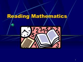 Reading Mathematics