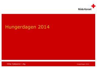 Hungerdagen 2014