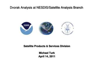 Dvorak Analysis at NESDIS/Satellite Analysis Branch