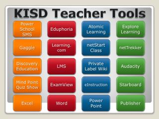 KISD Teacher Tools