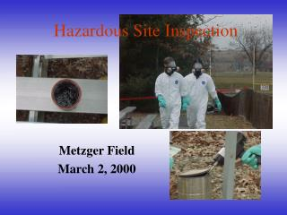 Hazardous Site Inspection