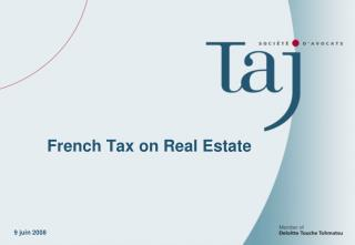 French Tax on Real Estate