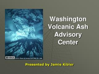 Washington Volcanic Ash Advisory Center