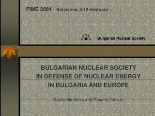 Bulgarian Nuclear Society