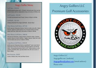 Angry Golfers LLC