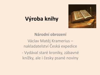 V�roba knihy