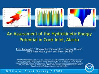 An Assessment of the Hydrokinetic Energy Potential in Cook Inlet, Alaska
