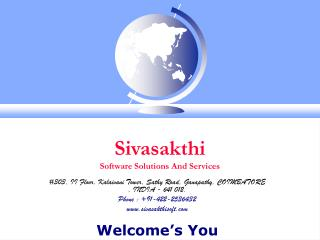 Sivasakthi  Software Solutions And Services