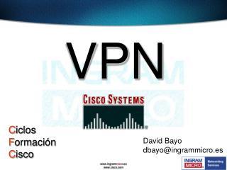 David Bayo dbayo@ingrammicro.es