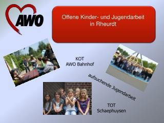 Offene Kinder- und Jugendarbeit in Rheurdt