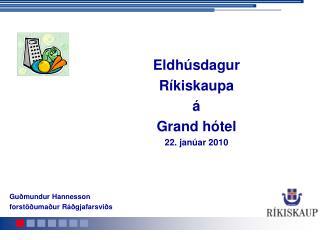 Guðmundur Hannesson  forstöðumaður Ráðgjafarsviðs