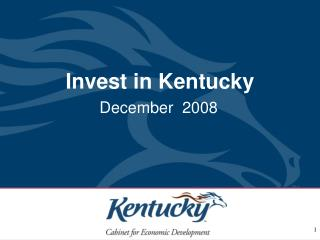 Invest in Kentucky