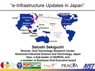 �e-Infrastructure Updates in Japan�